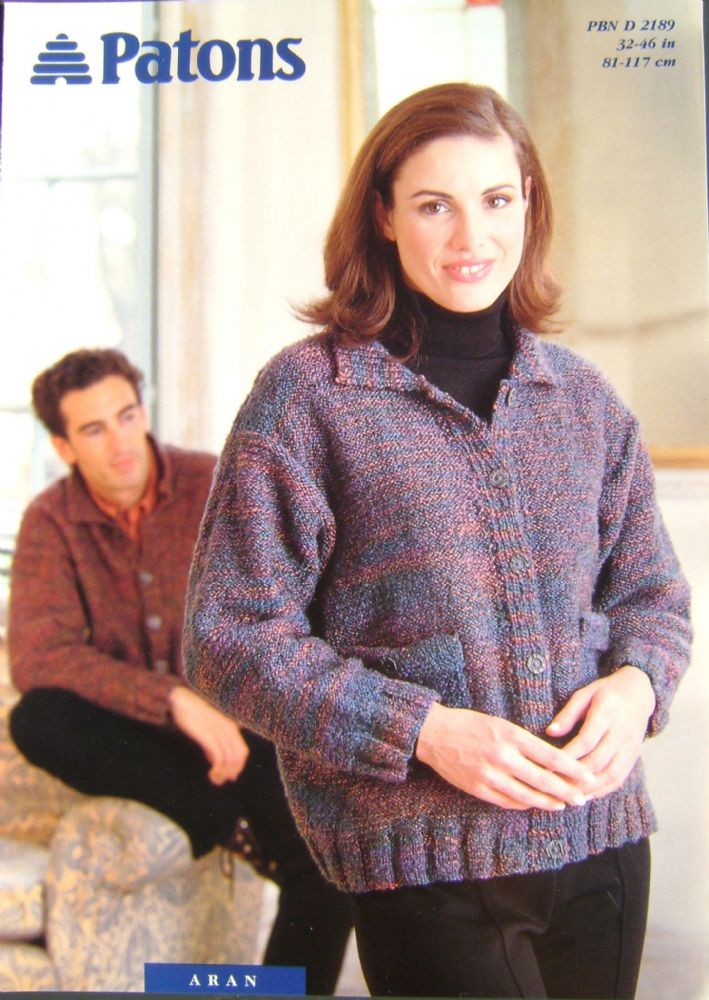 Patons Knitting Pattern 2189